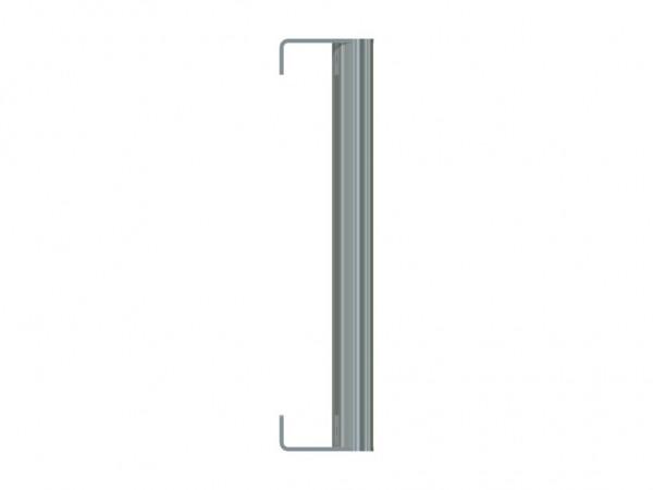 Edelstahl-Stoßgriff Serie 1200 Winkellasche