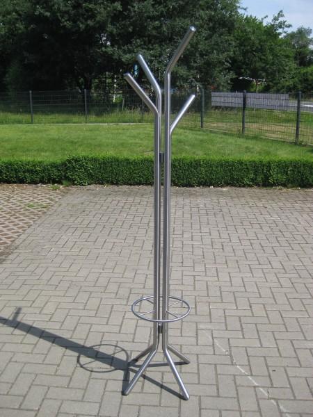 Edelstahl - Garderobenständer - 43000