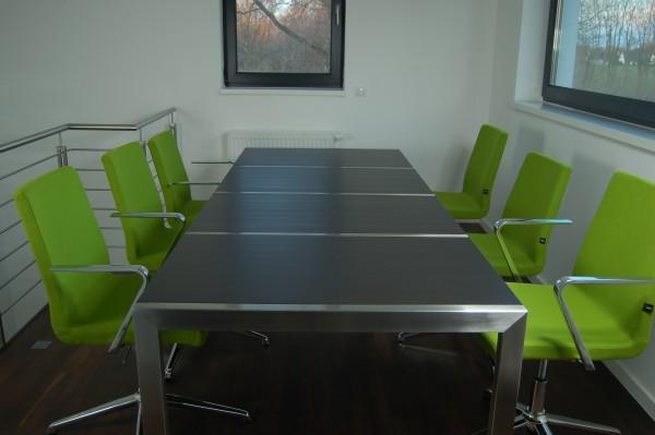Edelstahl - Schreibtisch - Konferenz - 12000