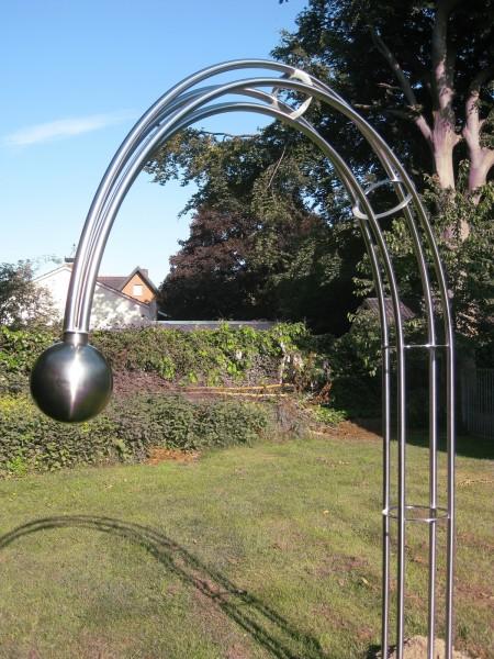 Edelstahl - Rosenbogen - 14000 - Form - Kugel