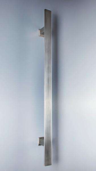 Edelstahl - Stoßgriff - Flachmaterial - Serie 1310 - gerade Stützen