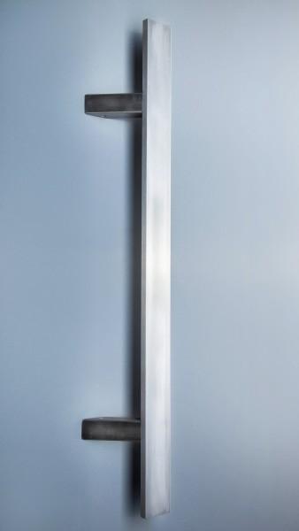 Edelstahl - Stoßgriff - Flachmaterial - Serie 1311 - schräge Stützen