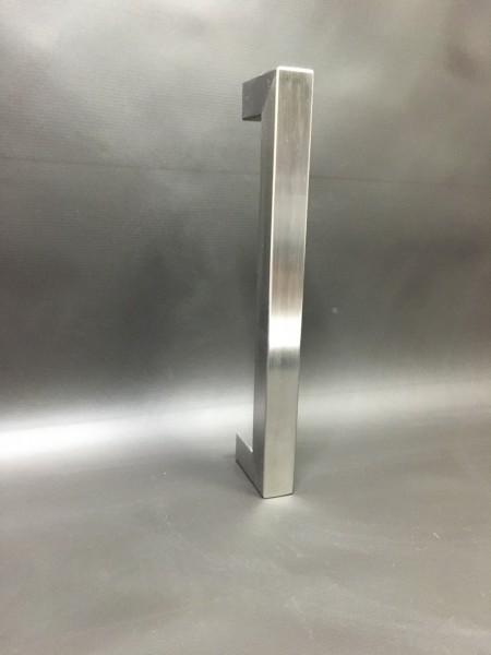 Edelstahl - Stoßgriff - Quadratrohr - 50000