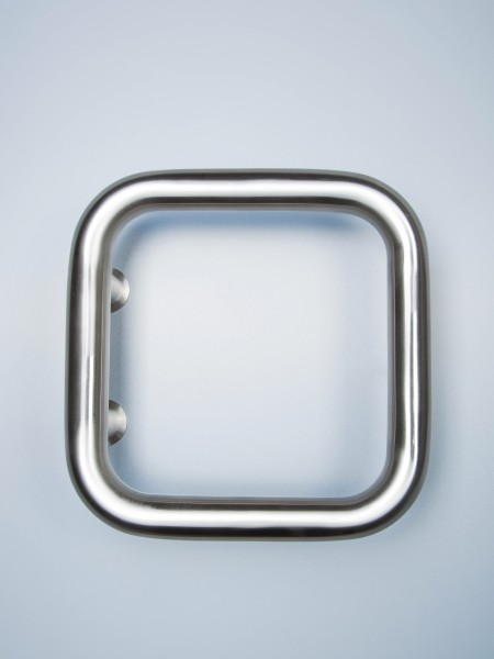 Edelstahl-Stoßgriff Serie 2100 Rechteck Form