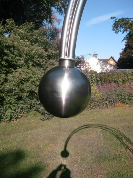 Edelstahl - Rosenbogen - 14000 - Form - Kugel 1.4571 V4A